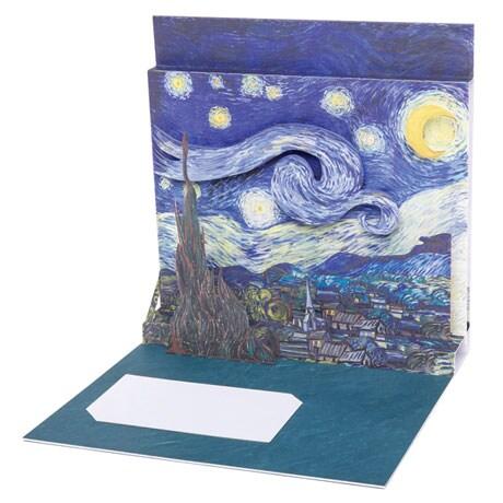 Starry Night Pop-Up Card