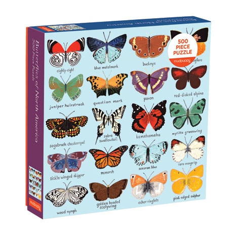 Butterflies Family Puzzle
