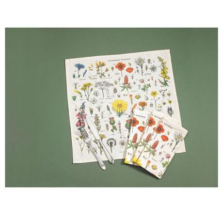 Vintage Wildflowers Napkins