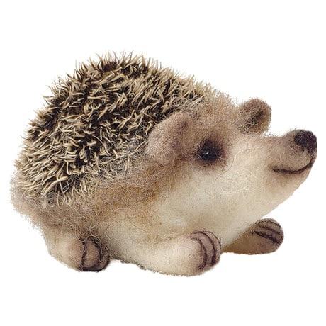 Baby Hedgehog Needle Felting Kit