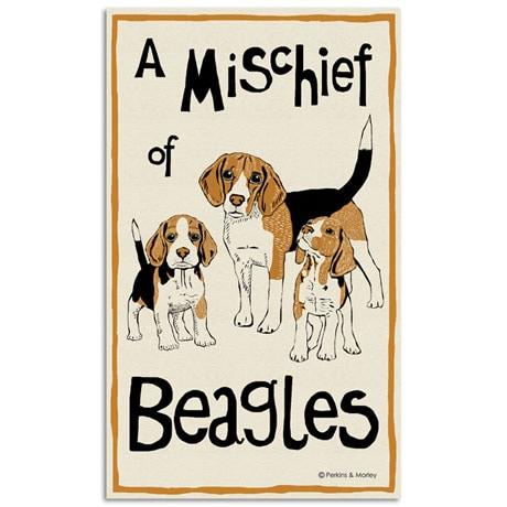 Dog Breed Tea Towels