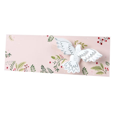 Dove Pop-Up Holiday Card