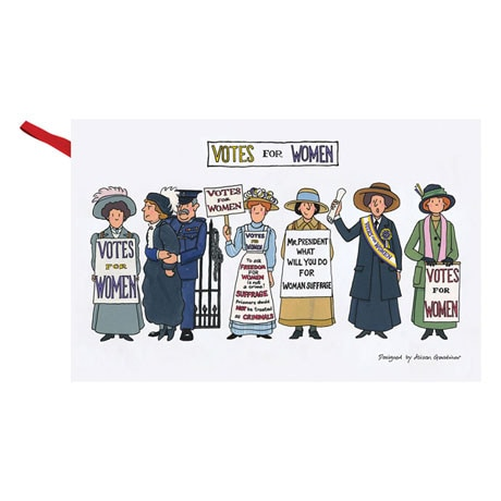 US Suffragist Collection - Tea Towel