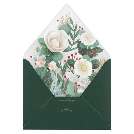 Winter Envelope Pop-Up Card