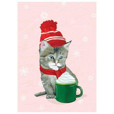 Cocoa Kitten Note Cards