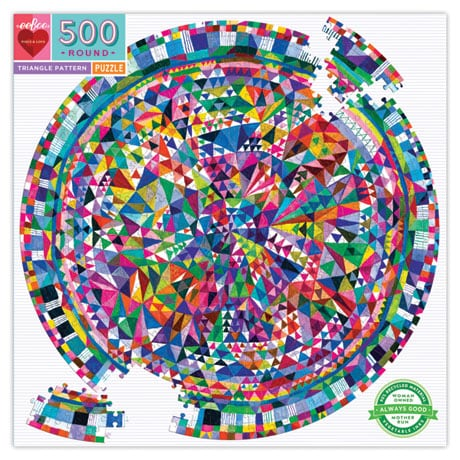 Triangle Quilt Pattern Puzzle