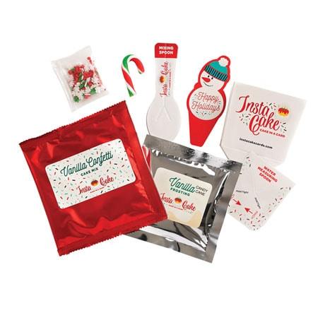 InstaCake Cards - Happy Holidays