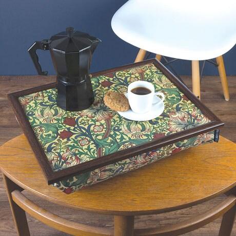 Golden Lily Lap Desk