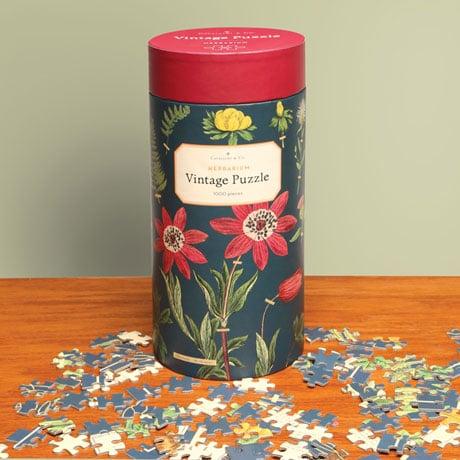 Vintage Herbarium Puzzle