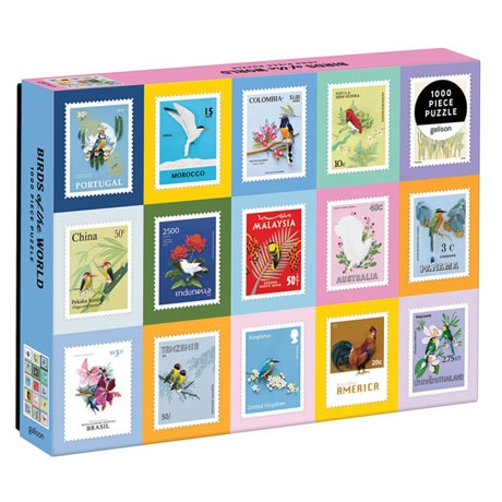 Birds of the World Puzzle