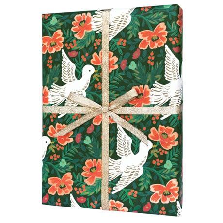 Peace Dove Gift Wrap