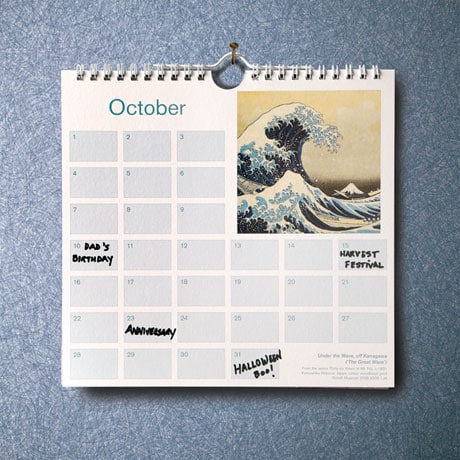 British Museum Birthdays and Occasions Calendar