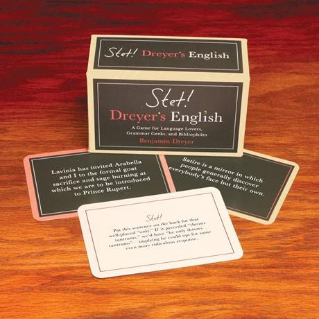 Stet! Dreyer's English Game