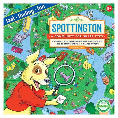Spottington Game