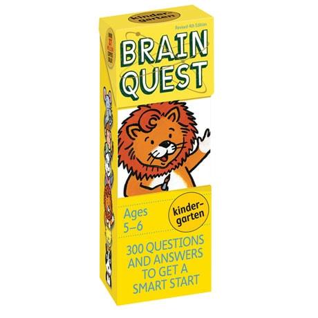 Brain Quest Decks - Kindergarten