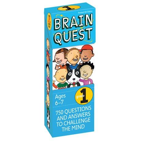 Brain Quest Decks - First Grade