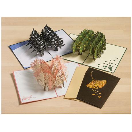 Four Seasons Pop-Up Cards