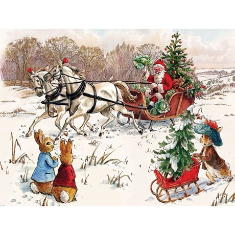 Peter Rabbit and Santa Jigsaw Puzzle