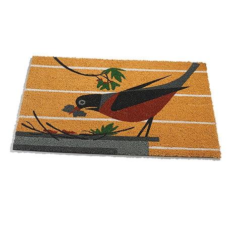 Charley Harper Cheerful Robin Doormat