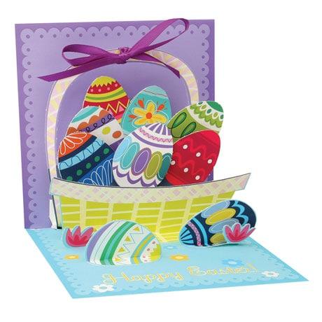 Easter Egg Basket Pop-Up Card