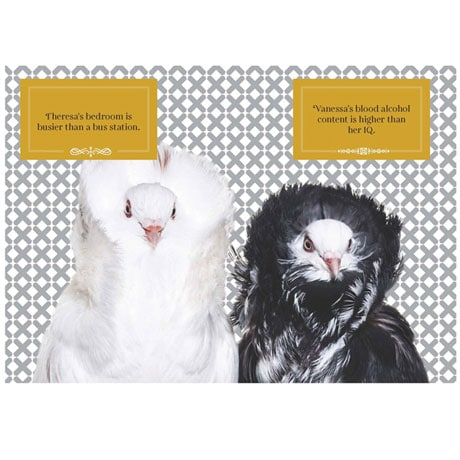 Feathered and Fabulous: Wit and Wisdom from Glamorous Birds