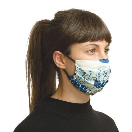 Fine Art Face Masks - Hokusai