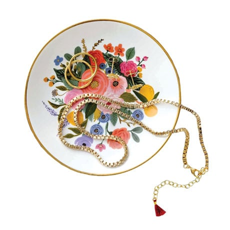 Garden Party Ring Dish