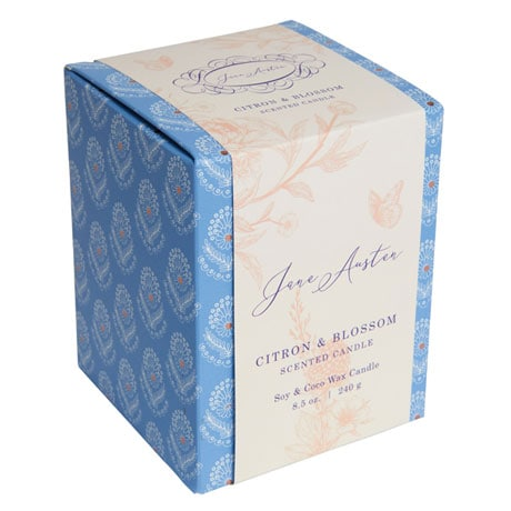 Jane Austen Candles - Citron and Blossom