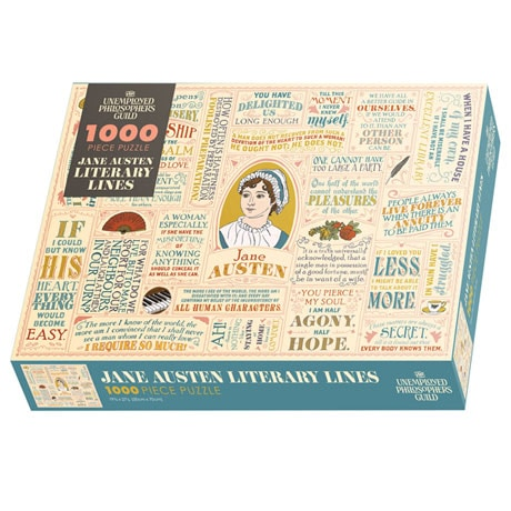Jane Austen Literary Lines Puzzle