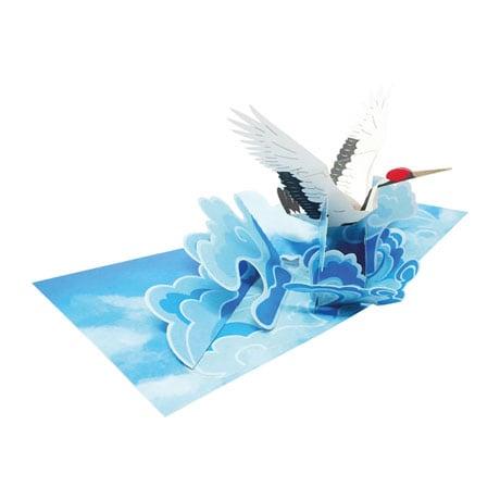 Japanese Crane Pop-Up Card