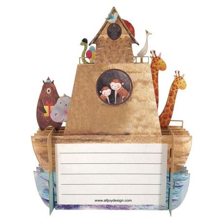 Noah's Ark Pop-Up Card