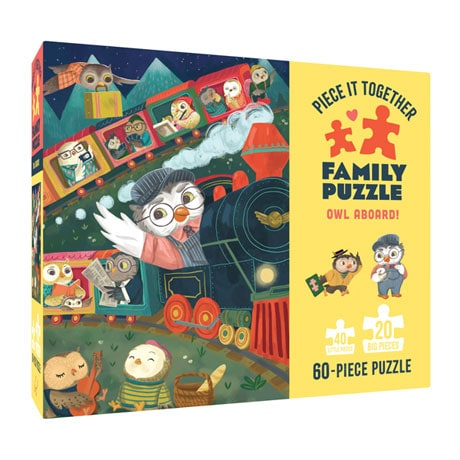 Owl Aboard Family Puzzle