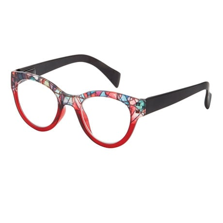 Stained Glass Readers - Red