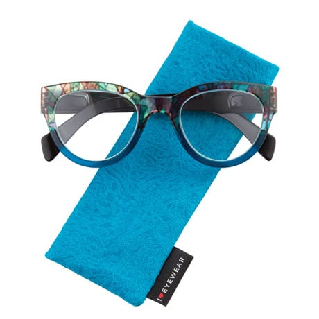 Stained Glass Readers - Teal