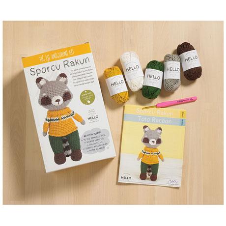 Toto Racoon Crochet Kit