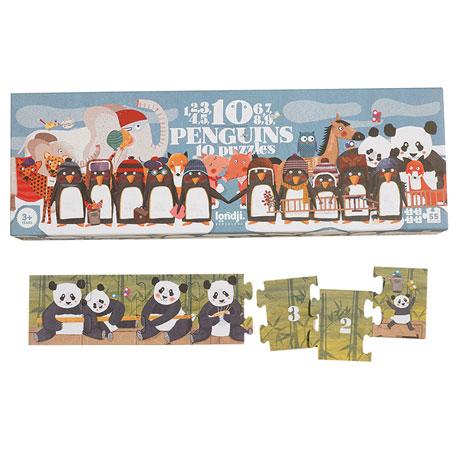 Ten Penguins Puzzle