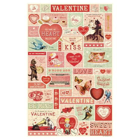Vintage Valentine Puzzle