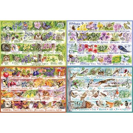 Woodland Seasons Puzzle