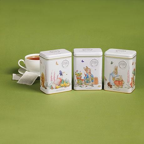 Peter Rabbit Tea Tin Trio