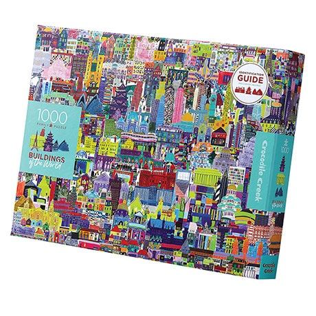 Buildings of the World Puzzle