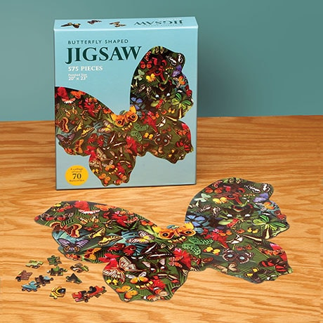Butterfly Shaped Puzzle