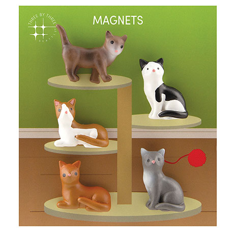 Clowder of Cats Magnets