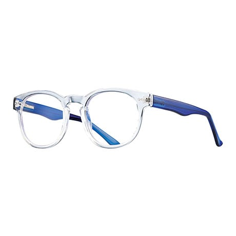 Crystal Clear Blue-Blocking Readers - Blue