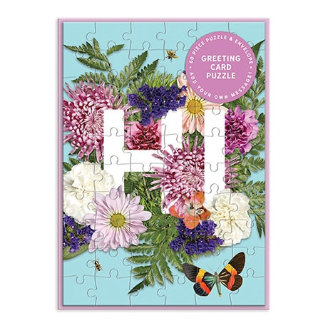 Greeting Card Puzzles - Hi