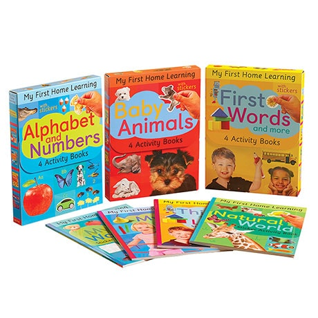 Home Learning Activity Book Kits - Alphabet and Numbers