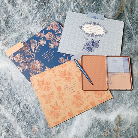 Jane Austen File Folder Set