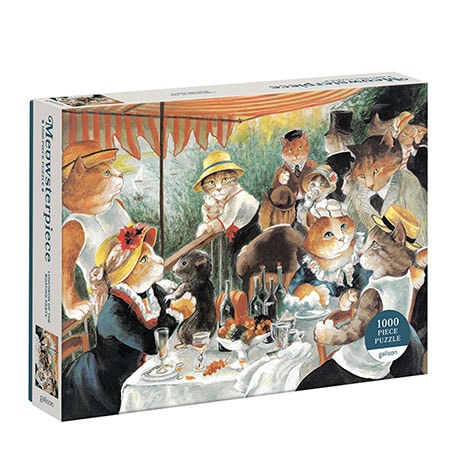 Meowsterpiece Puzzles - Luncheon of the Boating Party