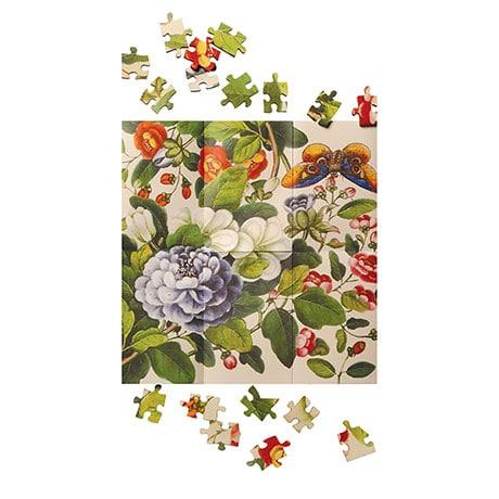 Pass-It-On Puzzle: Vintage Botanicals
