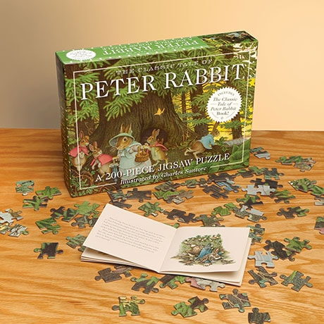 Peter Rabbit Book and Puzzle