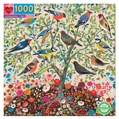 Songbirds Tree Puzzle